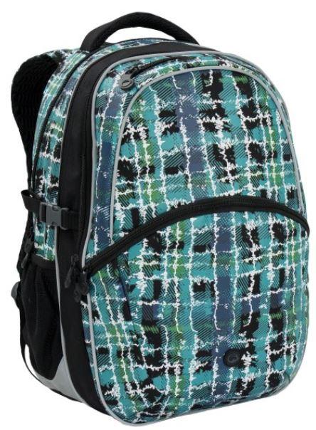 Školní batoh MADISON 6 B BLACK/PINK/SILVER