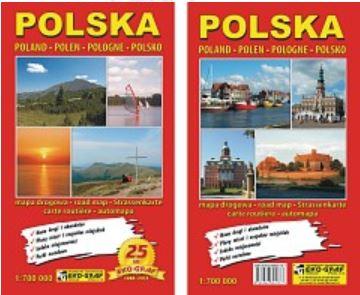 Automapa POLSKO 1:700 000