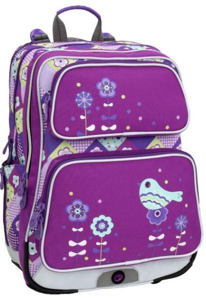 Školní batoh GALAXY 6 A VIOLET/BLUE