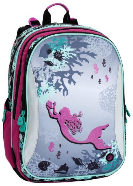Školní batoh PLUTO 6 A PINK/GREEN