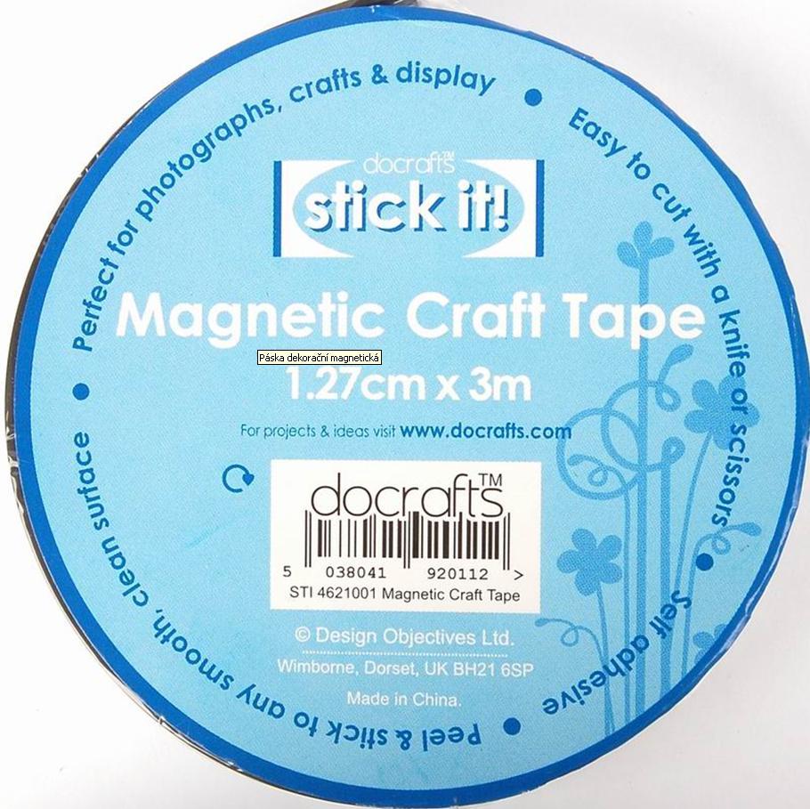 Páska dekorační magnetická