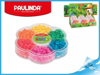 Paulinda Super Beads 6x5mm 450ks v květince
