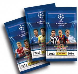 CHAMPIONS LEAGUE 2014 ADRENALYN - karty