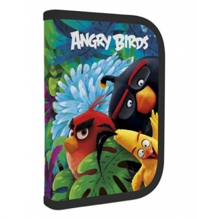 Penál 1patrový 2 chlopně Angry Birds Movie NEW 2017