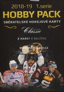 2018-19 OFS Classic Series 1 Hockey HOBBY PACK