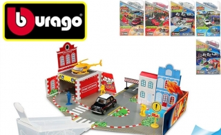 Bburago - Street Fire Open & Play Set