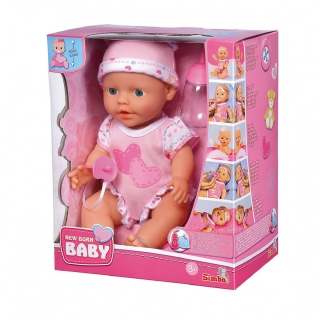 Panenka NEW BORN BABY - BABY CARE 30 cm