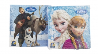 Frozen Puzzle with cookies- puzzle se sušenkou