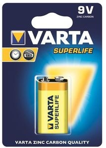 Baterie VARTA SUPERLIFE 9V 1ks